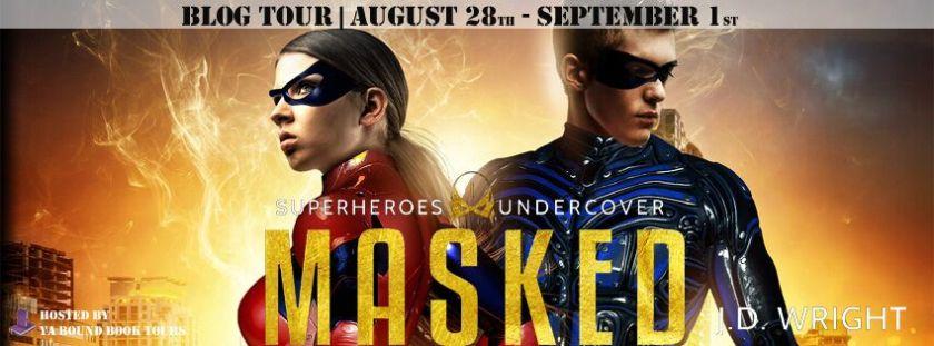 Masked tour banner
