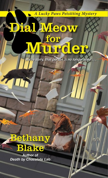 DIAL MEOW FOR MURDER by Bethany Blake_363x600