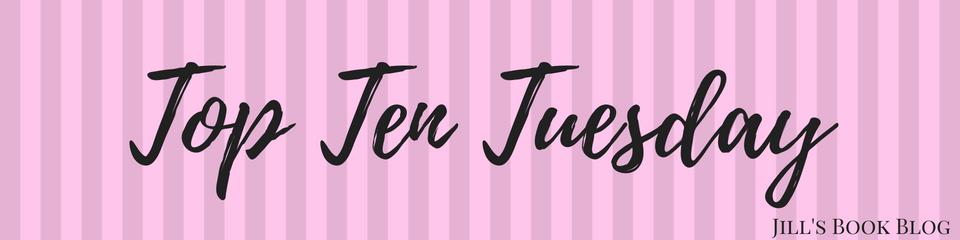 Top Ten Tuesday – Books I'm ThankfulFor