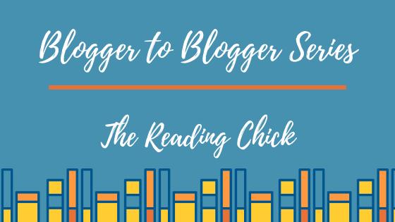 Blogger to Blogger Series: An Interview with Jill @ Jill's BookBlog