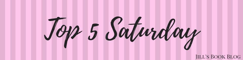Top 5 Saturday – Guilty PleasureReads